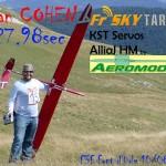 Allan Cohen bat de record francais de vitesse en F 3f